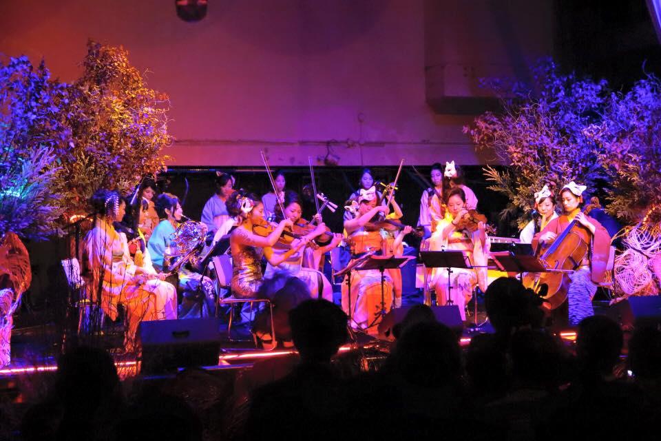 和奏女子楽団ウーマンオーケストラのイメージ